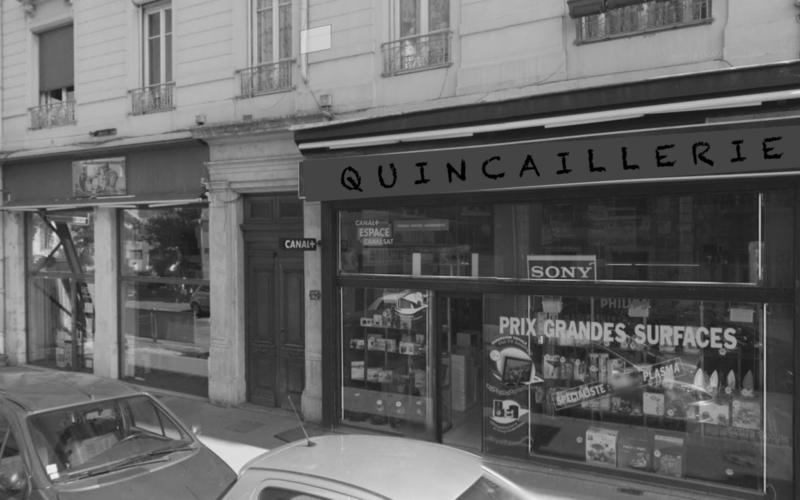 Quincailleries à Montchat Pendant la II°GM