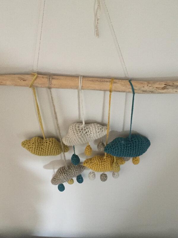 Crochet, nuage