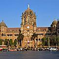 Gare chhatrapati shivaji terminus - mumbai - inde