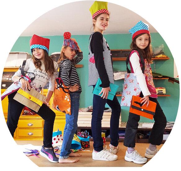 stage couture enfant à Belley atelier crapule factory