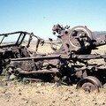 Région Tigré : Vestiges de la guerre - Près d'Axoum