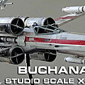 Modeler's miniatures @ magic : studio scale x-wing from buchanan studio
