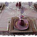 Table violette 034