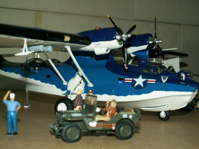 maquette du PBY- CATALINA (version 1948) (8)