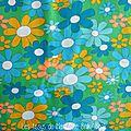 344 - Petit Pan Fleurs vintage