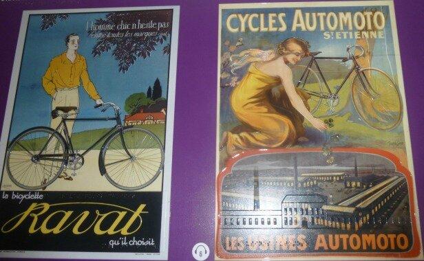 affiches pub vélo