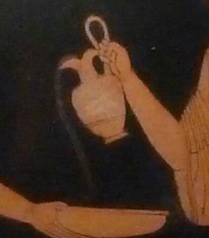 Libation, scène rituelle, Ve s avt JC