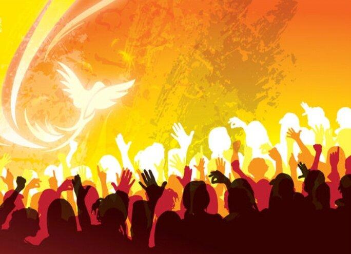 Venue de l'Esprit Saint sur l'humanité