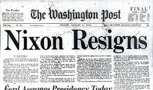 Washington Post 1974 Watergate Nixon le Petit Vélo Avranches infos