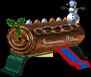 023-carte-buche-noel-gif-joyeuses-fetes-snowman-houx