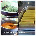 Cannellonis à la viande et aux feuilles de blettes