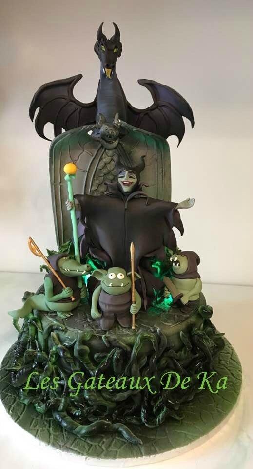 Gâteau Maléfique