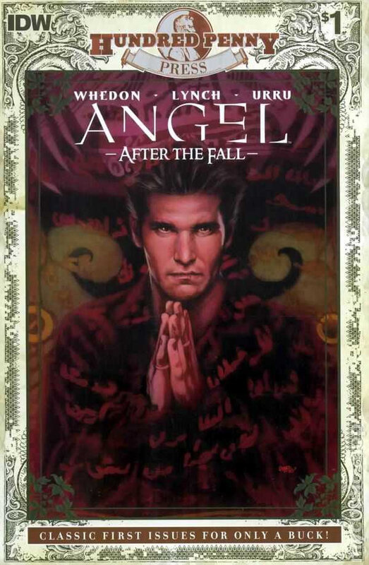 IDW hundred penny press angel after the fall 01