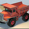 Mack dump truck #28 d …