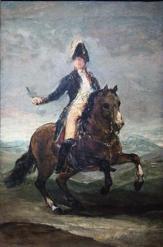 Attribué-à-Francisco-José-de-Goya-y-Lucientes-Portrait-équestre-de-Ferdinand-VII-esquisse-autour-de-1808-©-Musée-des-Beaux-Arts-d'Agen-791x1200