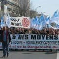 Manif de la police nationale