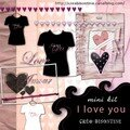 Freebie : kit i love you