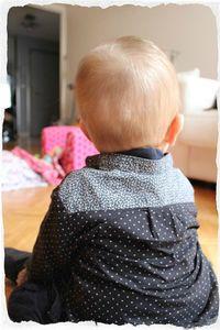 chemise Henry dos (Large)