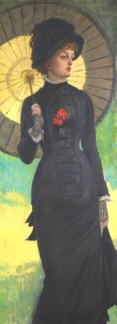 Lady with the umbels
