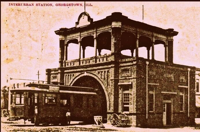 georgetown station de trolley 1910