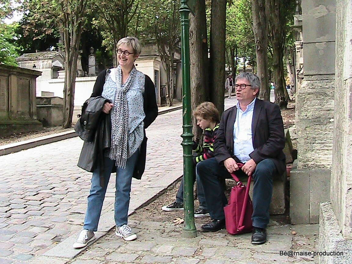 Banc du Père Lachaise (Paris, septembre 2012)
