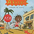 Akissi, tome 1 : attaque de chats, de marguerite abouet & mathieu sapin