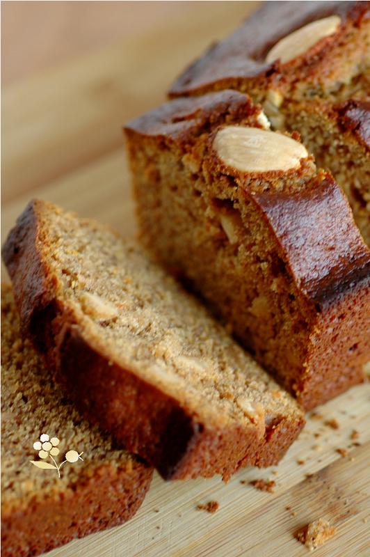 Cake épicé aux amandes, noisettes & farine de souchet_6