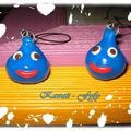Mes straps dragon quest =)!