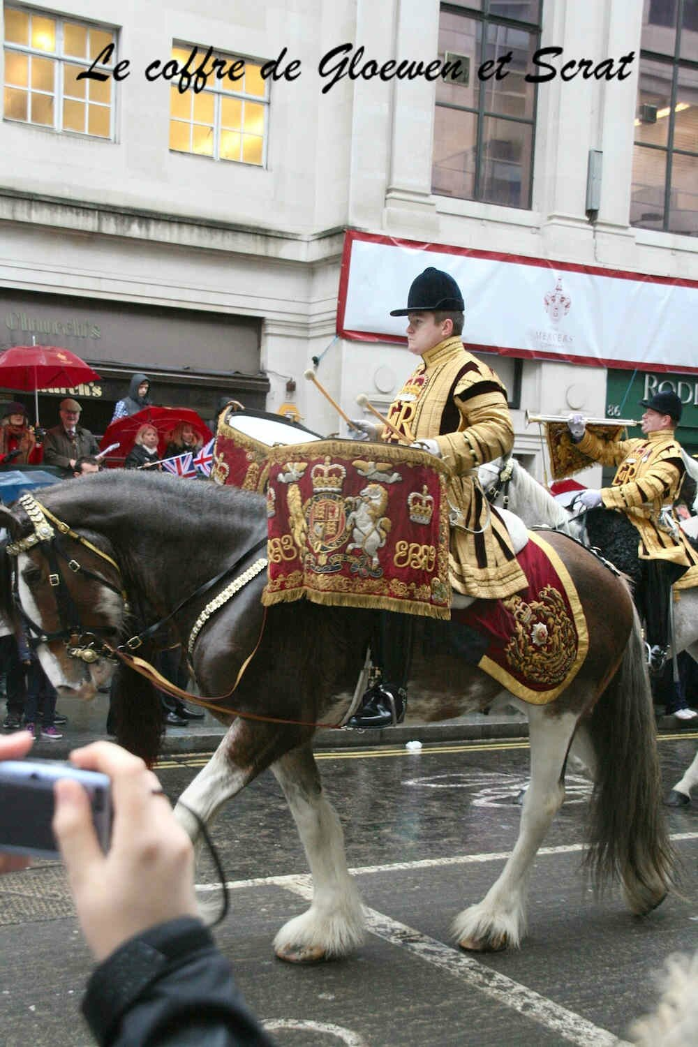Fanfare à cheval: Lord Mayor show