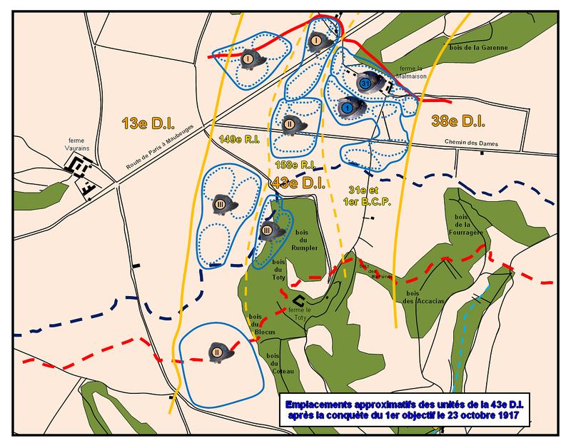 Carte_1_journee_du_23_octobre_1917_1er_objectif