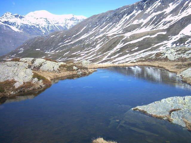 petit lac au dessus de celui du Mont Cenis