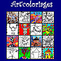 Les nanoug' art coloriages