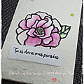 Challenge carte #simplestamping stampin'up!
