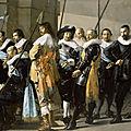 Frans hals museum exhibits all of frans hals' militia pieces
