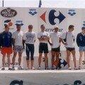 Grand Prix Triathlon Rennes, 1997. Bourges AC.