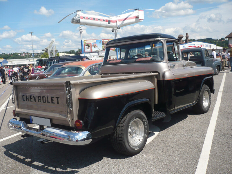 CHEVROLET Apache 2door pick-up 1958 Sinsheim (2)