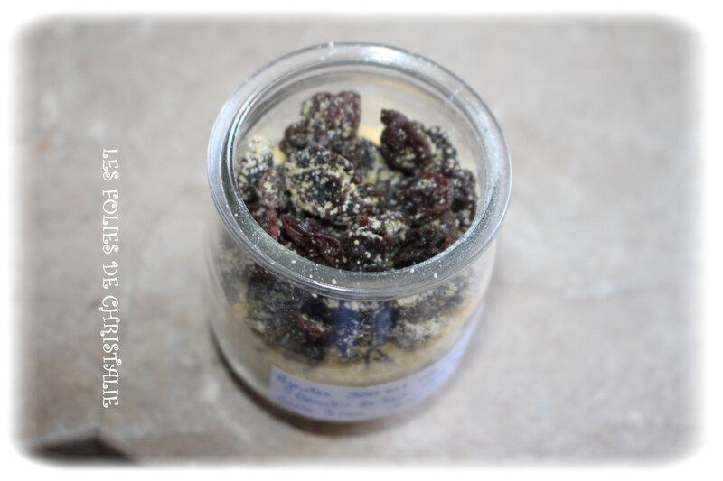 Polenta raisins 1