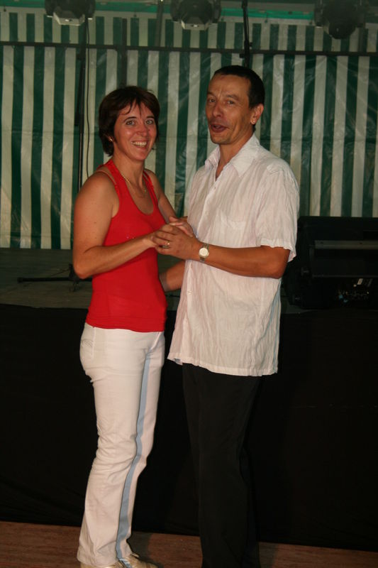 Denise et Christian de l'animation à la danse et toujours avec talent et bonne humeur