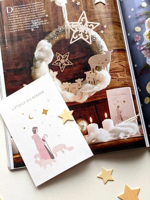 carte étoile du berger Minty Hours - couronne marie-claire idées - blog marimerveille