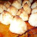 Mes rochers noix de coco