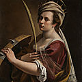 Artemisia gentileschi self portrait goes on display at national gallery in london