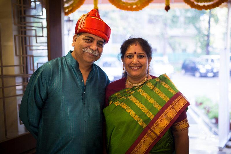 Milind et Shraddha