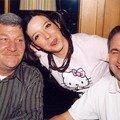 Avec Jean-Pierre et Michel!!! J'adore cette photo!!!