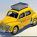 Renault 4cv hino taxi au japon ...