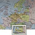 Lettonie - carte