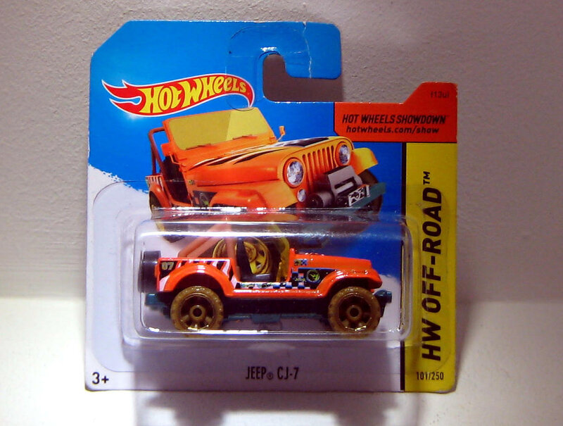 Jeep CJ-7 (TH 2015) Hotwheels