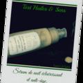 Sérum de nuit éclaircissant et anti-âge- test huiles & sens : gélifiant r