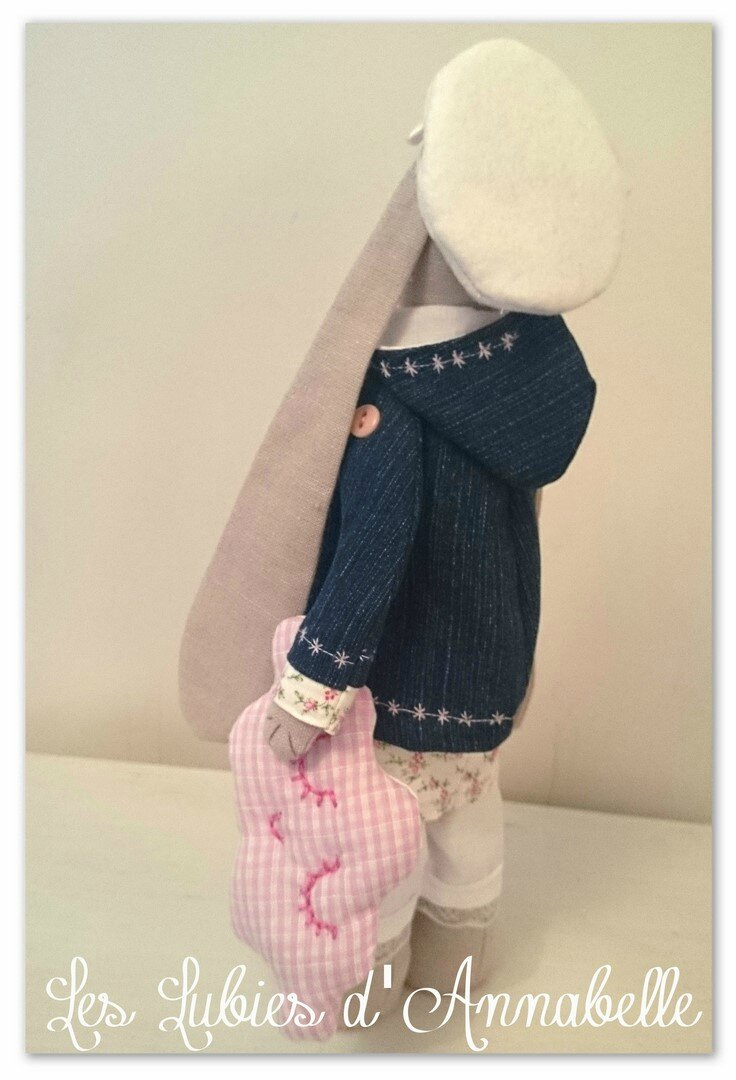 Lapin les lubiesd'Annabelle dos