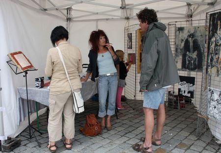 Betty GINI au centre et François multi-compétent FdzA