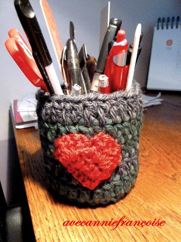 pot à crayons